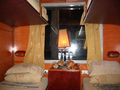 Voyage sur-mesure, Train de nuit Hanoi/Laocai