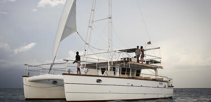 Voyage sur-mesure, Catamaran de Sail Lanka Charter