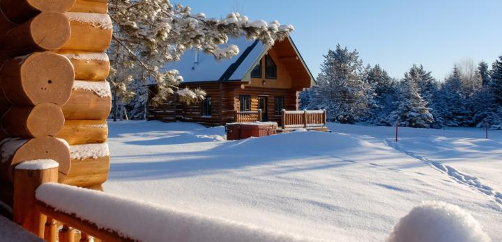 Voyage sur-mesure, Ma cabane au Canada en hiver !