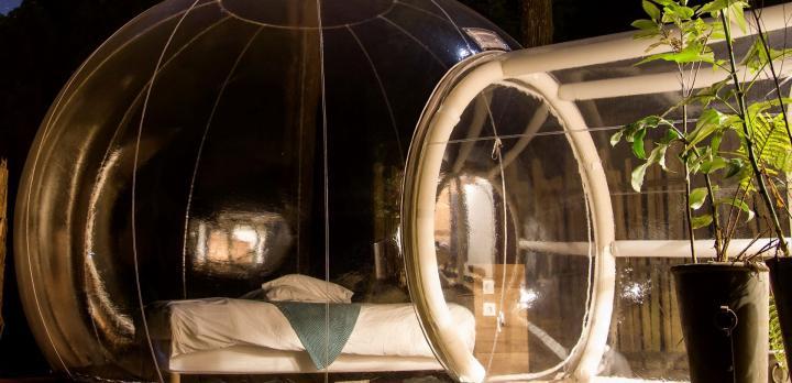Voyage sur-mesure, Une bulle sous les étoiles