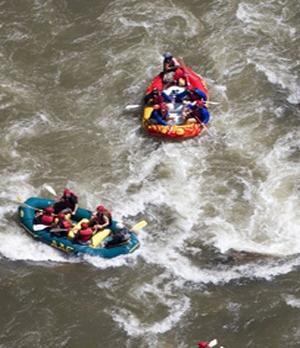 Voyage sur-mesure, Green River Raft