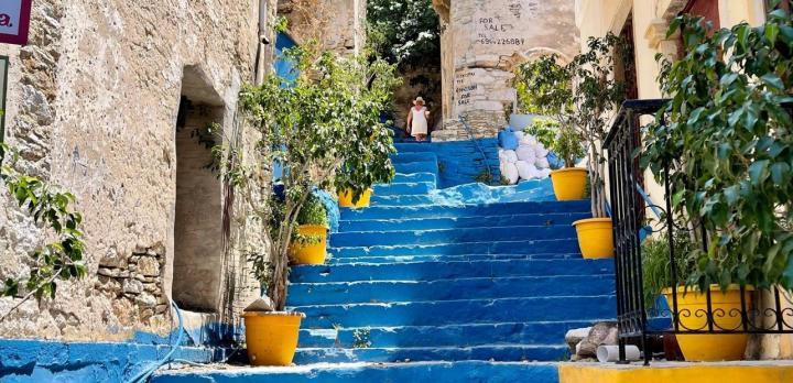 Je suis partie en repérage en Grèce... pour vous bien sur !