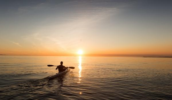 Voyage sur-mesure, Kayak & bivouac