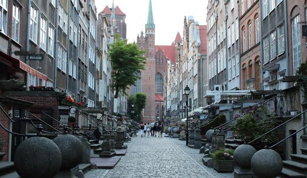 Voyage sur-mesure, Centre ville de Gdansk