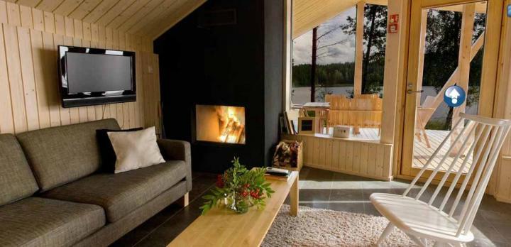 Voyage sur-mesure, Cottages design et hôtel-spa au bord du lac ****