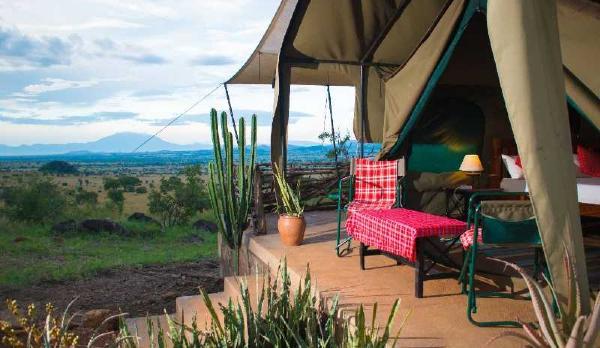 Voyage sur-mesure, Lodge de tentes à Kidepo