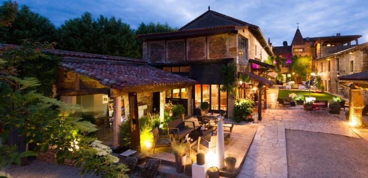Voyage sur-mesure, Bel hôtel de charme à Cluny