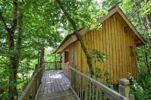 Voyage sur-mesure, Hébergement insolite dans les bois