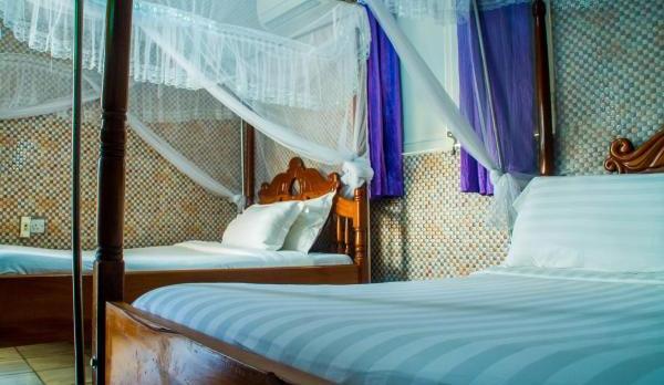 Voyage sur-mesure, Hôtel très simple à Kasese
