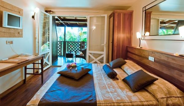Voyage sur-mesure, Hotel au cœur d'un jardin tropical