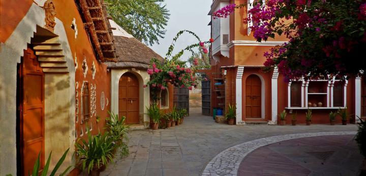 Voyage sur-mesure, Apani Dhani Eco Lodge