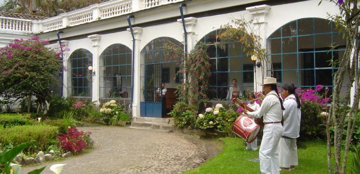 Voyage sur-mesure, Hosteria Hacienda Pinsaqui