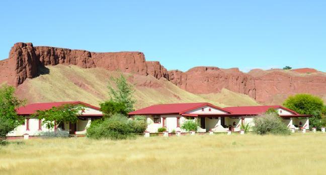 Voyage sur-mesure, Lodge près de Sesriem