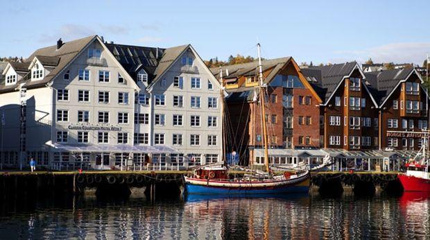 Voyage sur-mesure, Hôtel de bon confort dans le Port de Tromso ***