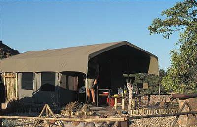 Voyage sur-mesure, Camp du Damaraland