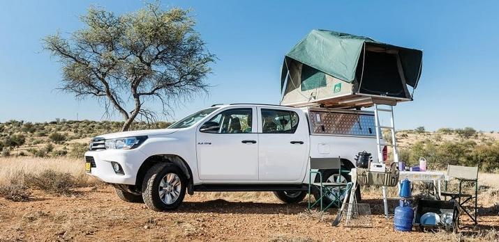Voyage sur-mesure, Combiné 4x4 camping et lodges en Namibie