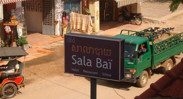 Voyage sur-mesure, Séjour en école hôtelière près d'Angkor