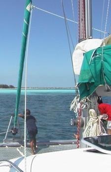 Voyage sur-mesure, Croisière en voilier dans les Jardins de la Reine