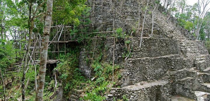 Voyage sur-mesure, El Mirador, coeur de la Biosphère Maya