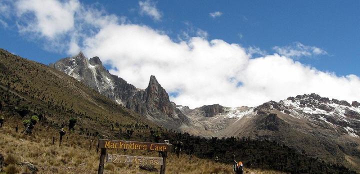 Voyage sur-mesure, Trek au Kenya : ascension du Mont Kenya (5199 mètres)
