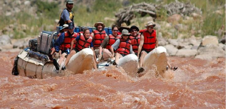 Voyage sur-mesure, Extension Cataract Canyon raft et camping