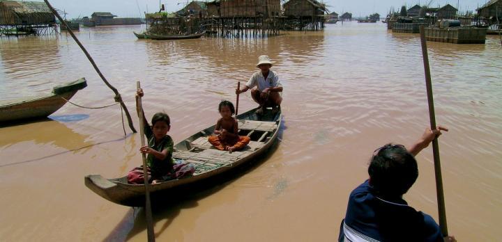 Voyage sur-mesure, Le Tonle Sap, entre nature et population