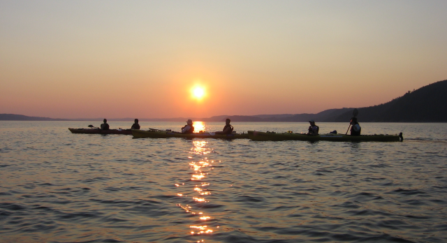 Voyage sur-mesure, Kayak dans le Saguenay