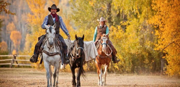 Voyage sur-mesure, Séjour 5 nuits au Goosewing Ranch, Wyoming