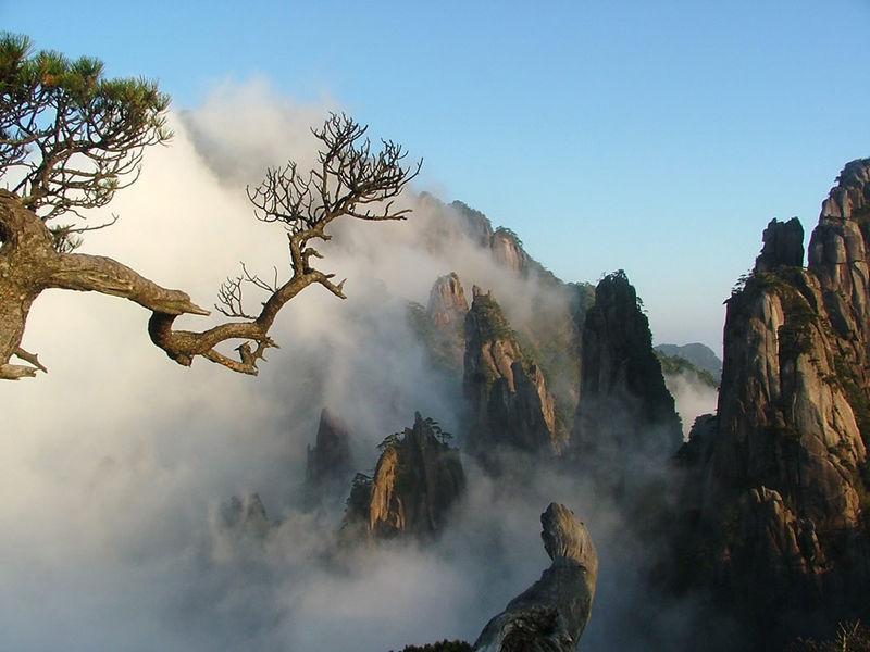 Voyage sur-mesure, Les montagnes célestes de Huangshan