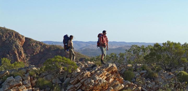 Voyage sur-mesure, Randonnée en Australie: Le Larapinta Trail