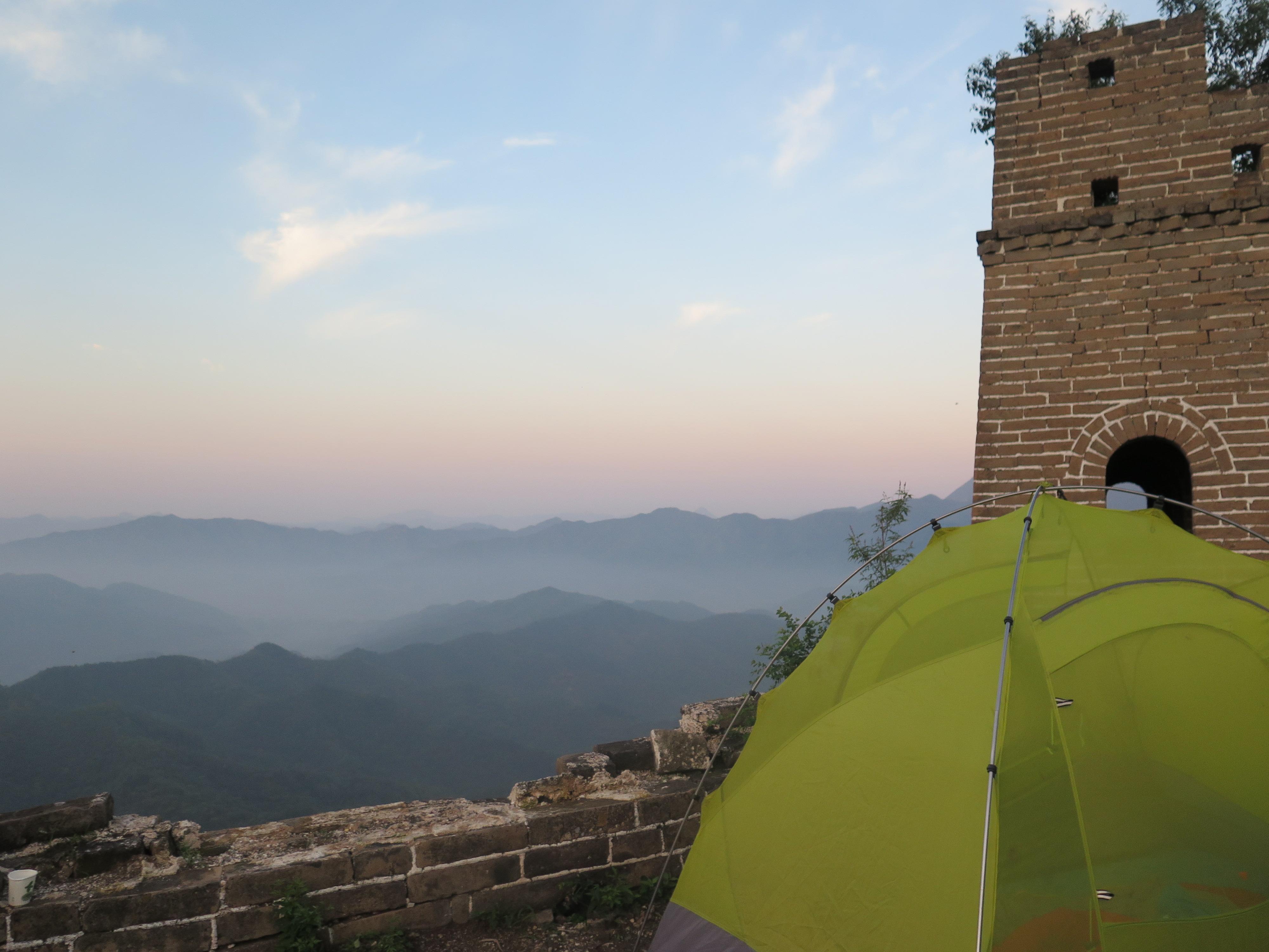 Voyage sur-mesure, Randonnée à la Grande Muraille de Chine avec nuit en tente sur la Muraille ou dans une ferme