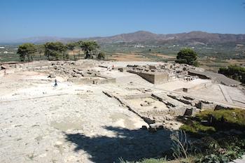 Voyage sur-mesure, Palais minoens Phaistos